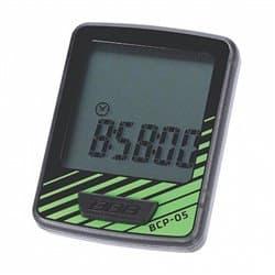 Велокомпьютер BBB BCP-05 DashBoard 7 функций черный/зеленый