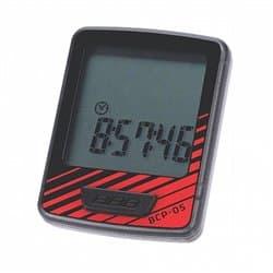 Велокомпьютер BBB BCP-05 DashBoard 7 функций черный/красный