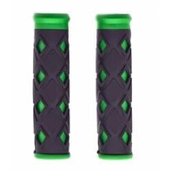 Грипсы HL-G 25 black/green 120мм.