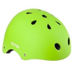 Шлем велосипедный STG MTV12 Салатовый Р:S(53-55) Х89043