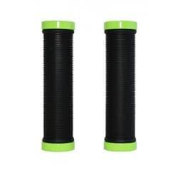 Грипсы H-G 119 black/light green 129мм