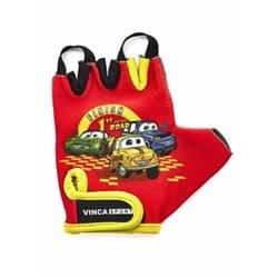 Перчатки вело VINCA детские VG-940 Cars (3 года)