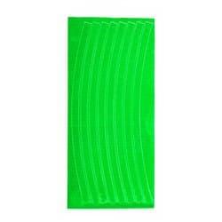 Светоотражающие накладки на обод 8 шт. STA 114 зеленый