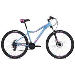 """Велосипед 27.5"""" STINGER SIENA EVO 17"""" 24 скор. Алюм. Синий"""
