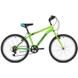 """Велосипед 24"""" STINGER DEFENDER 12.5"""" 6 скор. Зеленый"""