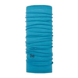 Бандана BUFF® LIGHTWEIGHT MERINO WOOL SOLID SCUBA BLUE