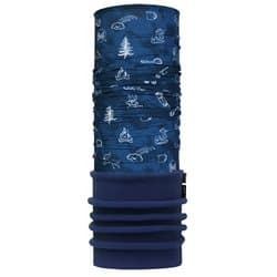 Бандана BUFF® POLAR CHILD FUNNY CAMP NAVY