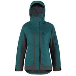 Куртка жен. SCOTT Ultimate Dryo spruce green heather/black heather Р:S