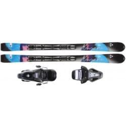 Горные лыжи FISCHER® Inspire FP9 (140) + креп. RS10
