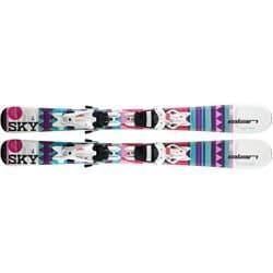Горные лыжи ELAN 18-19 SKY QS 140 + креп. EL 7.5