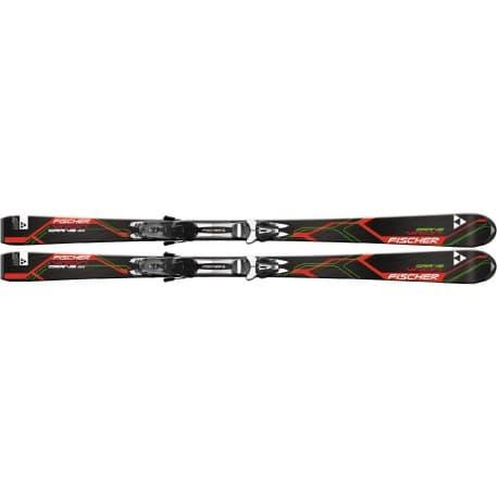 Горные лыжи Fischer Sportster Powerrail + креп. RS10