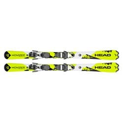 Горные лыжи HEAD® Monster SLR 2 neon yellow/white 127 + SLR7.5