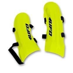 Слаломная защита голени UFO 2018-19 Long Slalom knee guards neon yellow