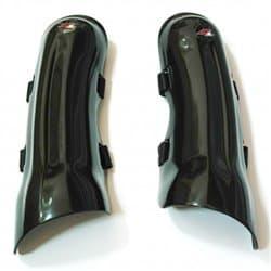 Слаломная защита голени UFO 2018-19 Long Slalom knee guards black