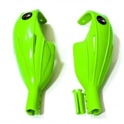 Гарды слаломные UFO 2018-19 Kids slalom handguards green