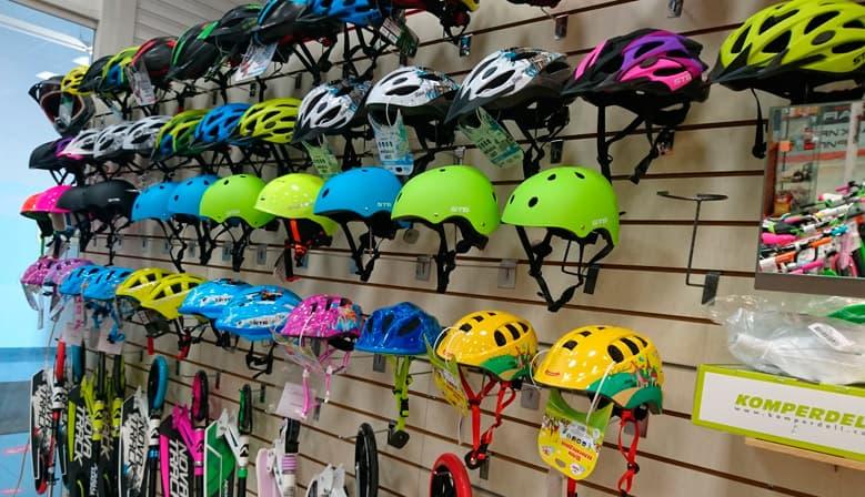 Купить Велосипедный шлем в наличии в Уфе